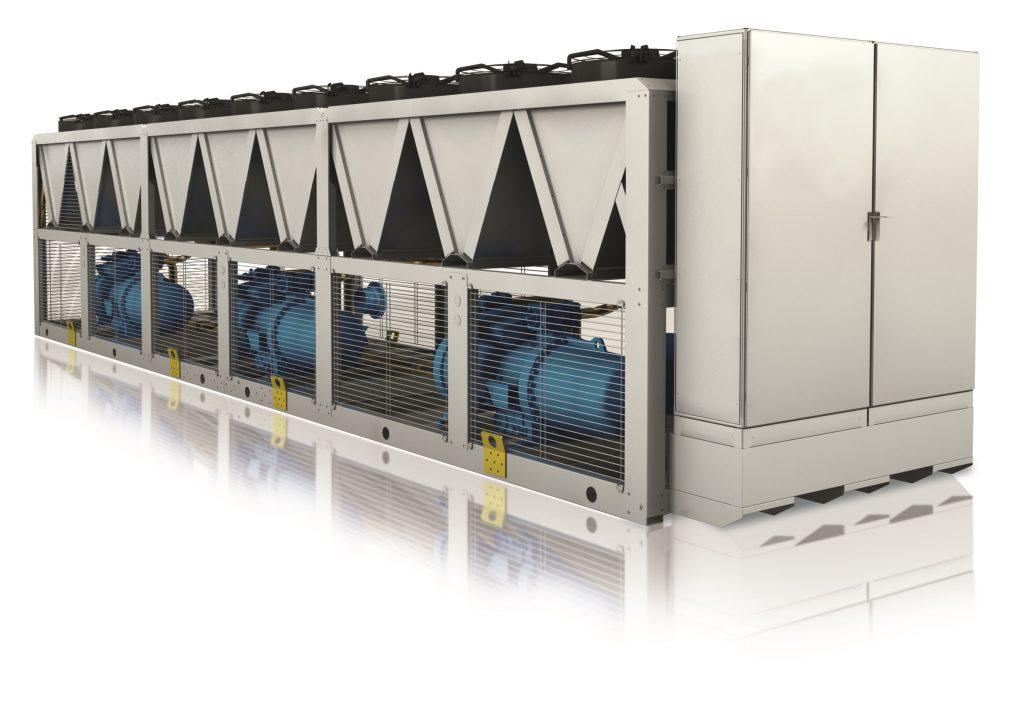 EKO.E/MT Groupe d'eau glacée à condensation par air – R290 Compression semi-hermétique