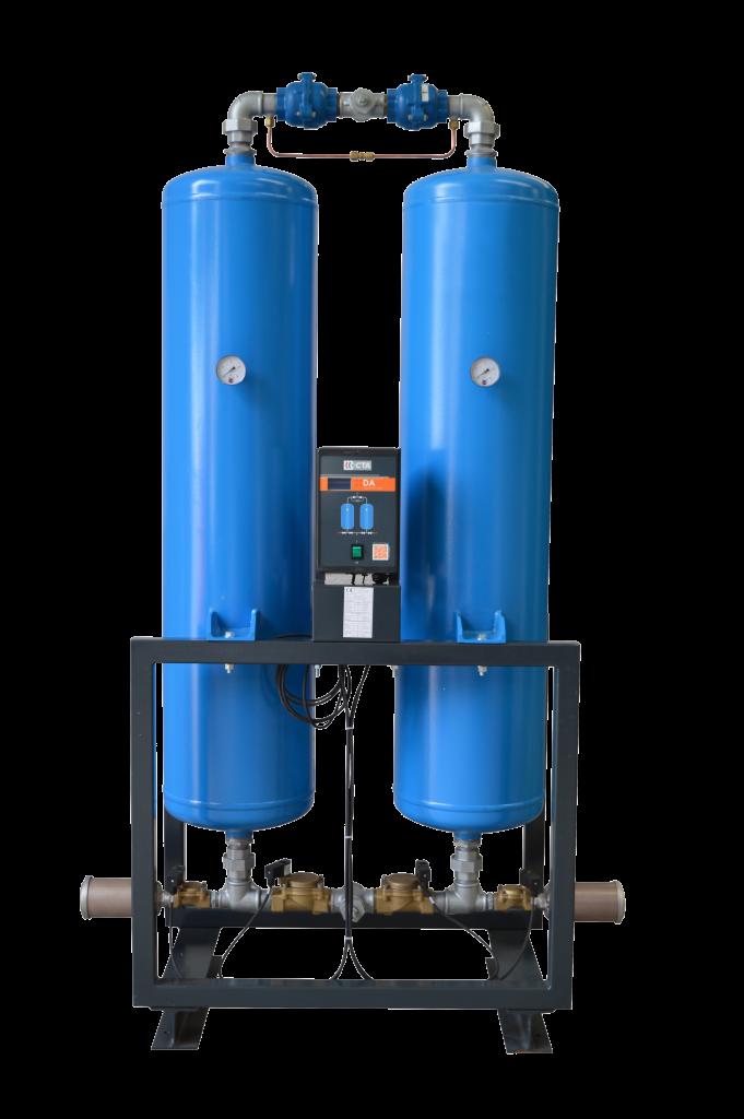 Sécheurs d'air basse pression (<16 bar) par adsorption sans apport calorifique