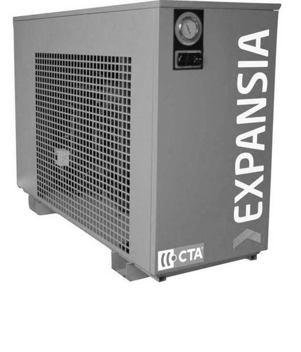 Sécheur d'air moyenne pression (40 bar) par réfrigération à détente directe
